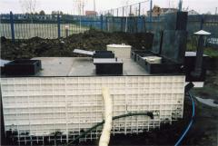 Bioline - the equipment of biological sewage
