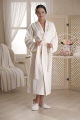 Банный махровый халат женский