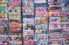 Magazines under the order and the budget of the
