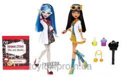 Куклы Monster High Cleo De Nile Ghoulia Yelps