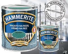 Краска по металлу Hammerite 0,7 л. (Польша)