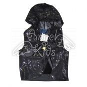 Vest with payetka black M.01-617
