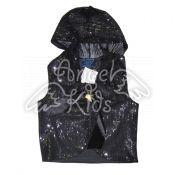 Vest with payetka black M.01-617