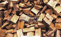 Щепа, дрова с фруктовых деревьев