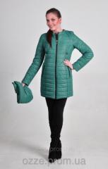 Женская куртка больших размеров на весну К 123