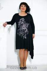Стильное коктейльное женское платье 491