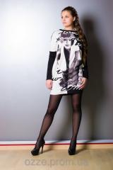 Платье-туника свободного кроя 591 Платье № 591