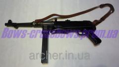 Автомат Шмайсер MP40 Метал С кожаным ремнем