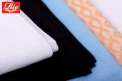 Полотенце спанлейс черные 100% вискоза 50см*80см