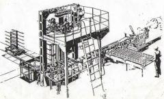 Автомат резки и укладки кирпича СМК 127 А.