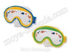 Children's mask for swimming of MiniAviator