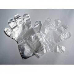 Перчатки полиэтиленовые (100шт/уп) для мед.