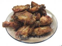 The chicken wings baked