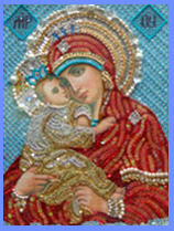 Pochayevsky icon of the Mother of God. An icon in