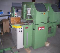 Machines for production glued