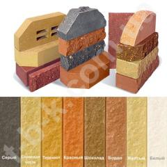 Brick facing giperpresovanny Litos