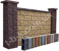 Blocks for fences