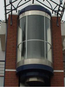 Лифты панорамные (с прозрачными кабинами) PANORAMIC 1