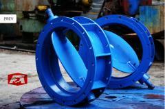Throttle valves diamer from 150 to 3200
