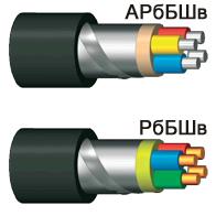 Power cables ARBBSHV, RBBSHV