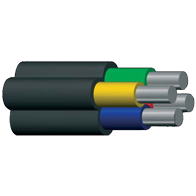 Power cable low-voltage AVVG