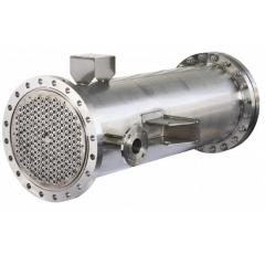 Heat exchangers for pharmaceutical production