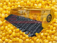 Harvester for cleaning of corn of ZhK-80; Harvester corn John Greaves; Corn harvester John Grivz