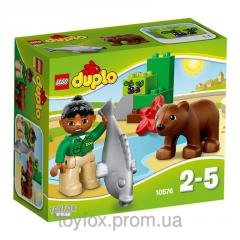 Lego Duplo Бурый медвежонок 10576