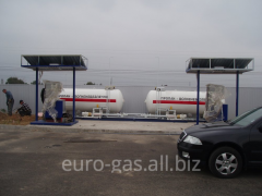 AGZP automobile gas-filling poin