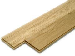باركيه بالقطعة من خشب البلوط