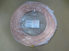 Copper pipe of FavorCool 1/4 on 15 meters