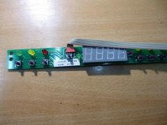 The electronic block the module of indication
