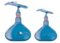 Flasks and batchers for sulfuric acid and