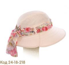 Шляпа летняя.    Среднее поле.