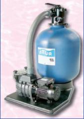 Оборудование для очистки воды, очистка бассейнов,