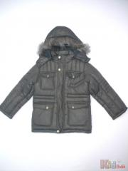Jacket winter for the boy gray the I2670 Code z