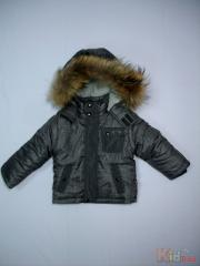 Jacket winter for the boy gray the I2090 Code z