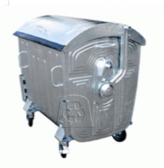 Eurotrash bin of 1100 liters