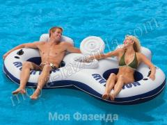 Circle chair double swimming inflatable (B-39