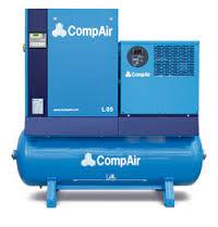 Mobile screw CompAir C14 compressor