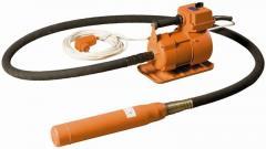 Глубинный вибратор ИВ-2.17 (220В, 1.5 кВт, д51, вал 3м)