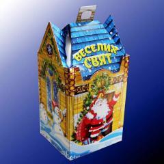Коробка под новогодние подарки от производителя