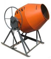Бетономешалка гравитационная БС-300 (редукторная)