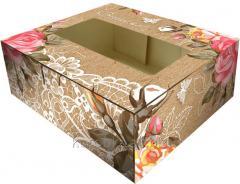 Коробка для печенья, сладостей под заказ