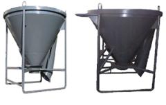 Tub for Liqueur glass concrete of 1 m3