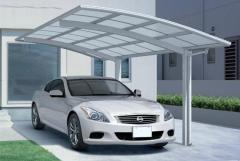 Canopy for a car