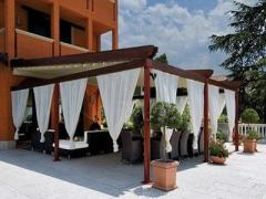 Canopies for a terrace, a pati