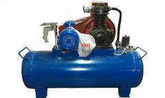 CO-243.1 compressor (receiver of 100 liters)