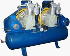 Компрессор СО-243.3 (ресивер 400 литров, 1000 л/мин) Тандем
