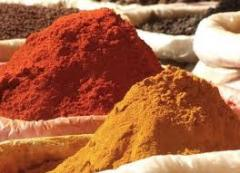 Seasoning for grilled chicken (red, yellow),